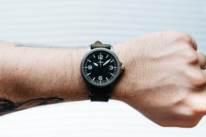 Sinn 856 Tegimented Non UTC Watch Review-16