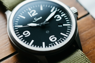 Sinn 856 Tegimented Non UTC Watch Review-3