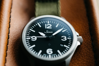 Sinn 856 Tegimented Non UTC Watch Review-5