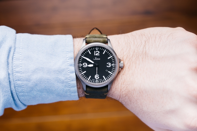 Sinn 856 Worn and Wound Strap-1